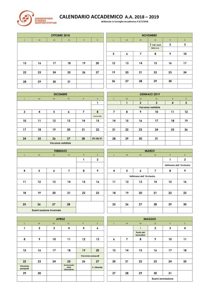 Calendario Appelli Unive.Calendario Accademico Ca Foscari Ikbenalles
